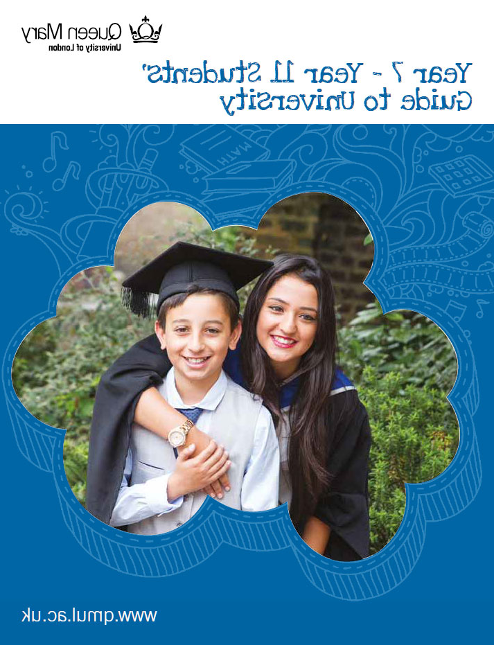 Front cover of Year 7 - Year 11 Guide